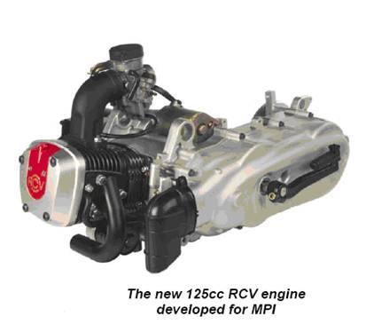 Даже специалист не определит на глаз, что этот двигатель для скутеров и мопедов - необычный.