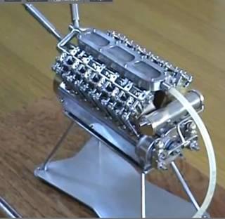 moteur miniature en kit